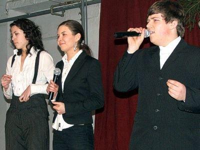 Od lewej: Kamila Osuch, Paulina Kaczmarska i Marcin Rolak