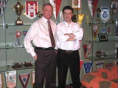 Franciszek Smuda i Wojtek Zimerman