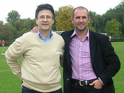 Wojtek Zimerman i Michał Probierz