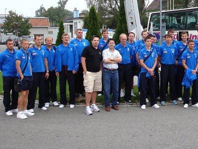 Wojtek Zimerman i drużyna Lecha Poznań