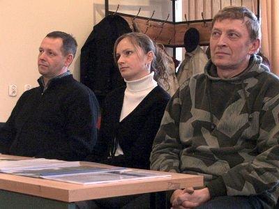 Od lewej: Andrzej Olejniczak, Marta Satoła i Zdzisław Abramowicz