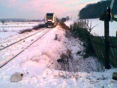 Do wypadku doszło na przejeździe przez tory w Gościszowie