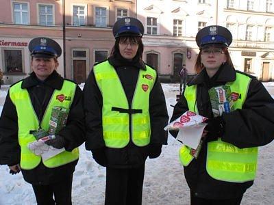 Policjantki z bolesławieckiej komendy również kwestowały na WOŚP