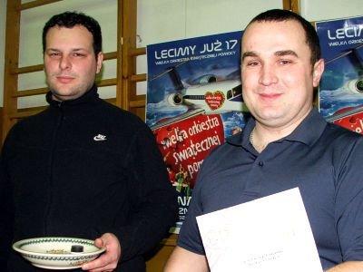 Od lewej: Tomasz Szpila i Bartosz Kasprzak