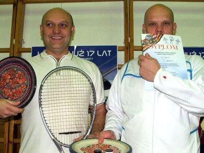 Od lewej: Stanisław Cebulski i Grzegorz Darul