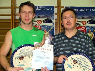 Od lewej: Rafał Kwieciński i Mirosław Sakowski