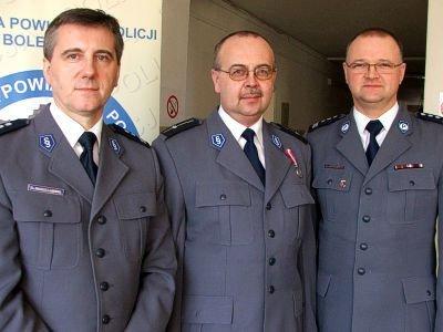 Od lewej: Zygmunt Skwierawski, Zbigniew Wojciechowicz i Grzegorz Chirowski
