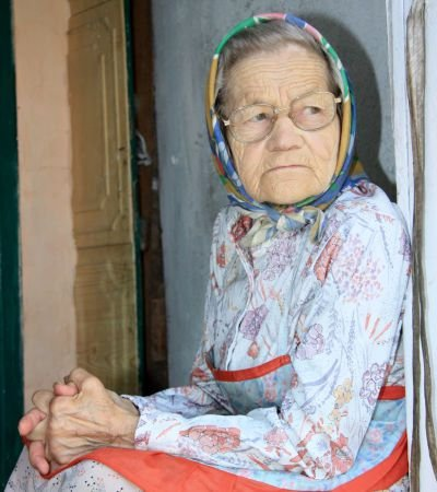 "Portret ""Stara kobieta"""
