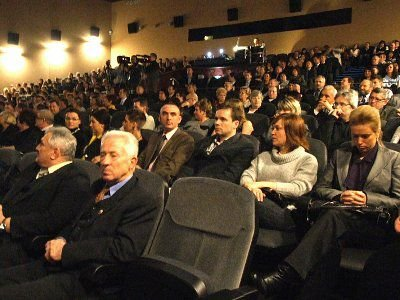 Podczas czwartkowej gali sala Forum była zapełniona