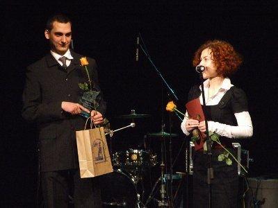 Paweł Apanasewicz i Justyna Rutkowska-Talar odebrali nagrodę w imieniu Via Sudetica