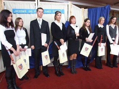 Uczniowie ZSOiZ odbyli miesięczną praktykę w Niemczech