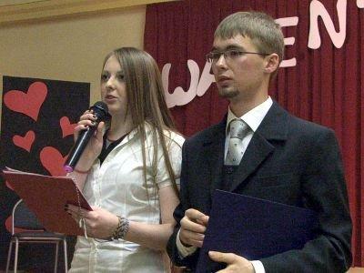 Imprezę poprowadzili Milena Urban i Paweł Dancewicz
