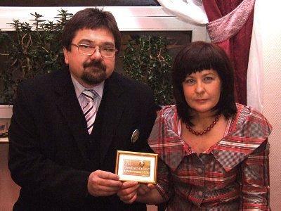 Sławomir i Wanda Zapałowie zostali wyróżnieni Złotą Piłką