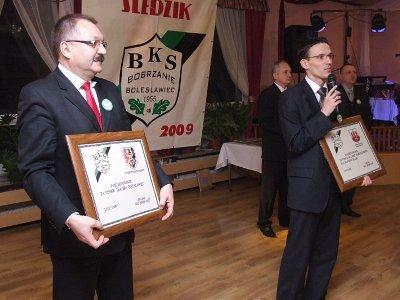 BKS Bobrzanie podziękował także starostwu i gminie miejskiej