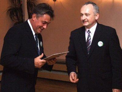 Wyróżnienie otrzymał także Mirosław Seneszyn - właściciel firmy Mirko