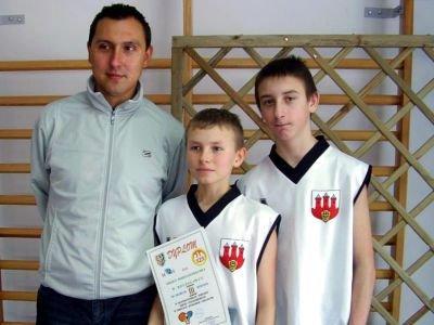 Zawodnicy z SP nr 4 w Bolesławcu