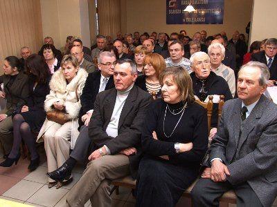 Na spotkanie z Sergiuszem Najarem przyszło ponad 80 osób