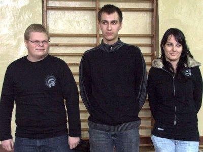 Zwycięzcy w kategorii szkół ponadgimnazjalnych. Po prawej: Jolanta Pitek