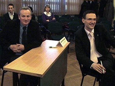 Od lewej: Janusz Kozioł i Maciej Małkowski