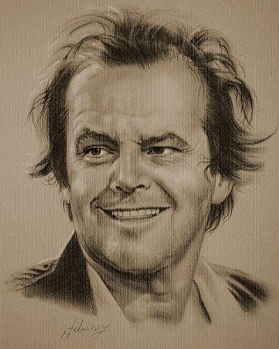 Portret Jacka Nicholsona
