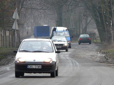 Droga przez Gierałtów