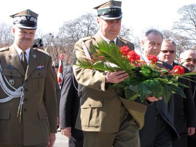W środku: płk Roman Kłosiński