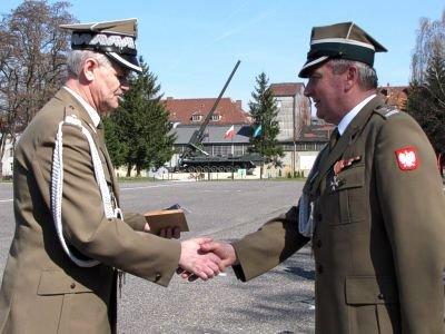 Od lewej: gen. Franciszek Kochanowski i płk Roman Kłosiński