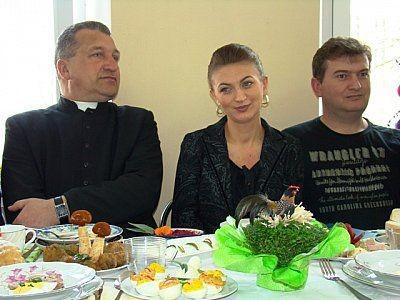 W środku: Justyna Ambroży