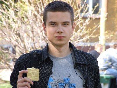Łukasz Woleński otrzymał pamiątkowy medal