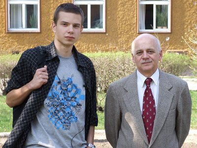 Łukasz Woleński i Bronisław Sołek
