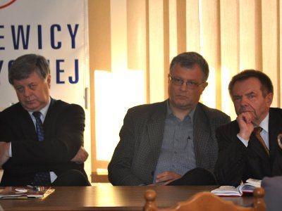 Jerzy Szmajdziński, Sergiusz Najar i Stanisław Chwojnicki