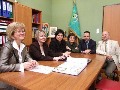 Komisja wizytowała szkołę pod koniec marca