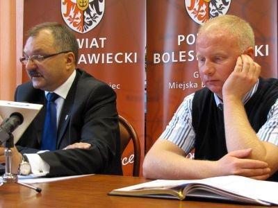 Od lewej: Cezary Przybylski i Adam Zdaniuk