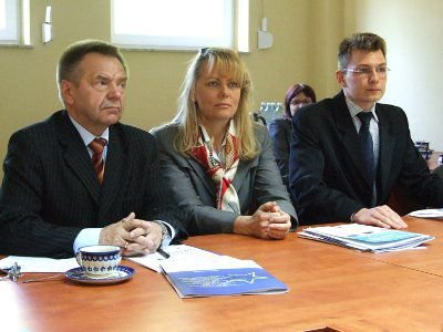 Stanisław Chwojnicki, Lidia Geringer de Oedenberg i Paweł Zieliński