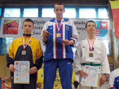 Pierwszy z lewej: Adam Filipek