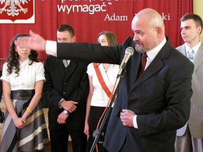 Edward Florków przedstawił swoich uczniów