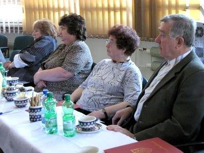 W spotkaniu wzięły udział m.in. Krystyna Boratyńska (pierwsza z lewej) i Jadwiga Bobek (druga z lewej)