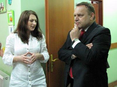 Justyna Ambroży i Jarosław Duda