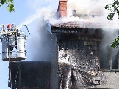 Przyczyny pożaru nie są na razie znane