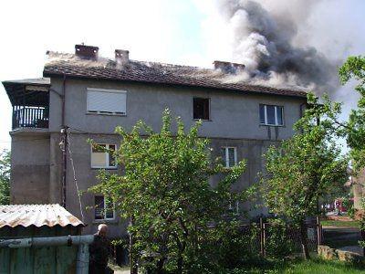 Wszyscy lokatorzy bezpiecznie opuścili swoje mieszkania