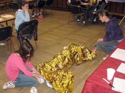 Wszystkie dzieci wykazały się świetną znajomością zasad udzielania pierwszej pomocy