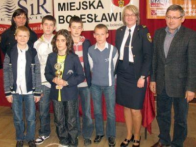 W kategorii klas VI wygrała reprezentacja gospodarzy