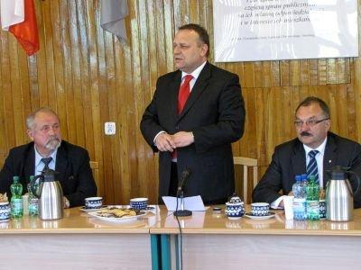 Od lewej: Karol Stasik, Jarosław Duda i Cezary Przybylski