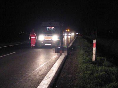 Ofiara wypadku zmarła na miejscu
