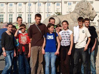 Zawodnicy UKS Tukan mieli okazję zwiedzić Warszawę