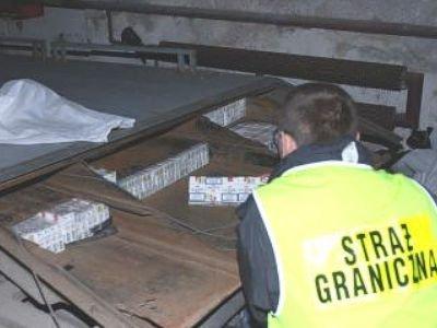 Wartość kontrabandy to 165 tys. zł