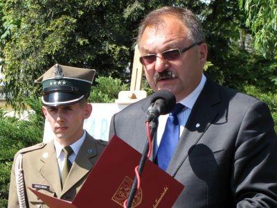 Od lewej: kpt. Remigiusz Kwieciński i Cezary Przybylski