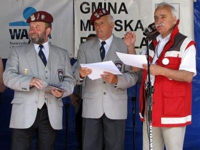 Od lewej: Bogdan Fiałkowski, Edward Mroczek i Adam Fornal
