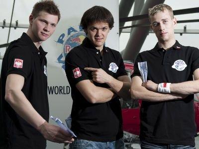 Od lewej: Witold Bądkowski, Tomasz Chodyra i Maciej Mazur