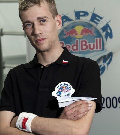 Maciej Mazur zajął czwarte miejsce w kategorii  lot na dystans